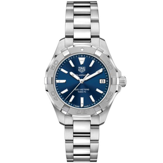TAG Heuer Aquaracer Quartz Ladies Blue Steel Watch