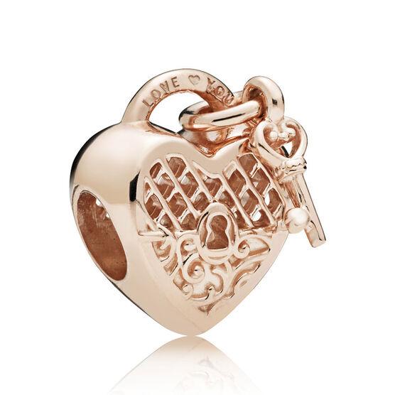 Pandora Rose Love You Lock Charm 787655 Ben Bridge