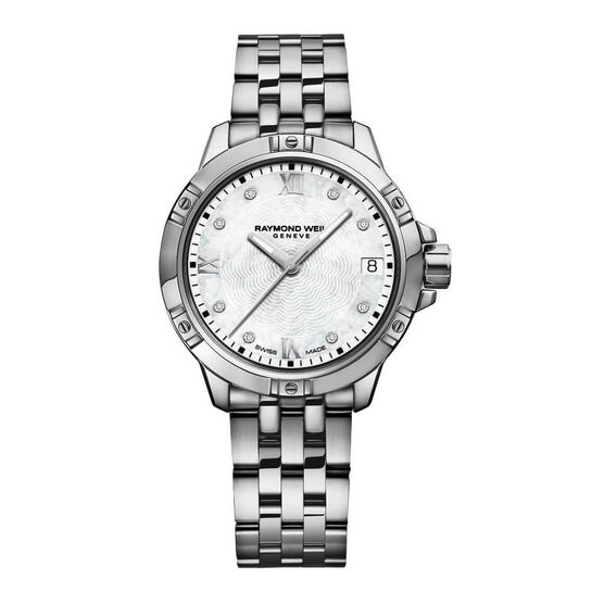 Raymond Weil Tango Stainless Diamond Dial Watch, 30mm