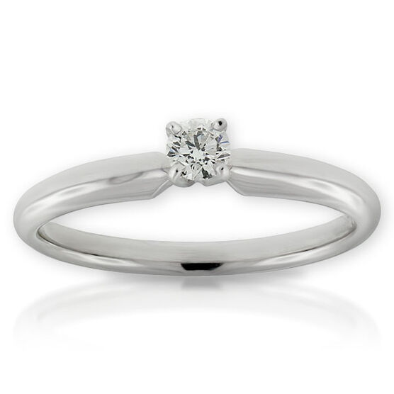 Ikuma Canadian Diamond Ring 14K, 1/7 ct.