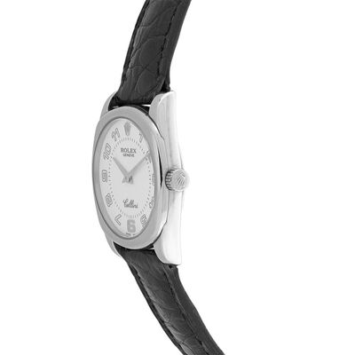 Pre-Owned Rolex Cellini Danaos White Dial Watch, 24mm, 18K