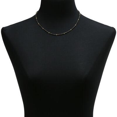 Lisa Bridge Pyrite & Citrine Necklace