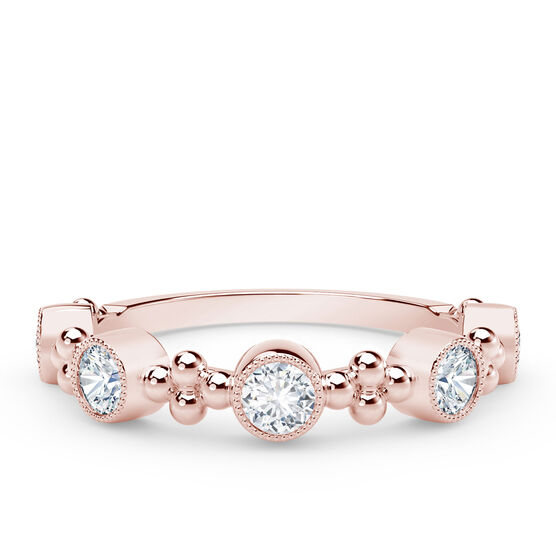The Forevermark Tribute™ Collection Rose Gold Diamond Ring 18K