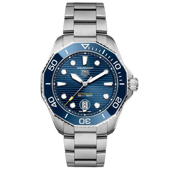 TAG Heuer Aquaracer Professional 300 Blue Steel Watch, 43mm
