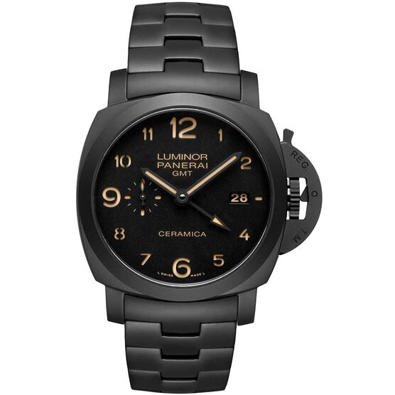 PANERAI Tuttonero - Luminor 1950 GMT Automatic Ceramic Watch