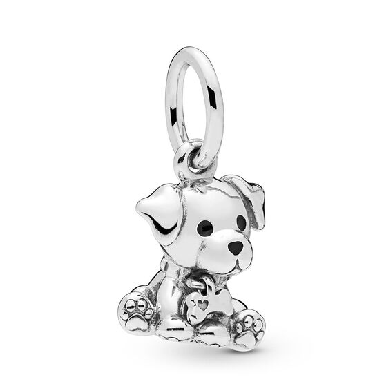 Pandora Labrador Puppy Dangle Enamel Charm