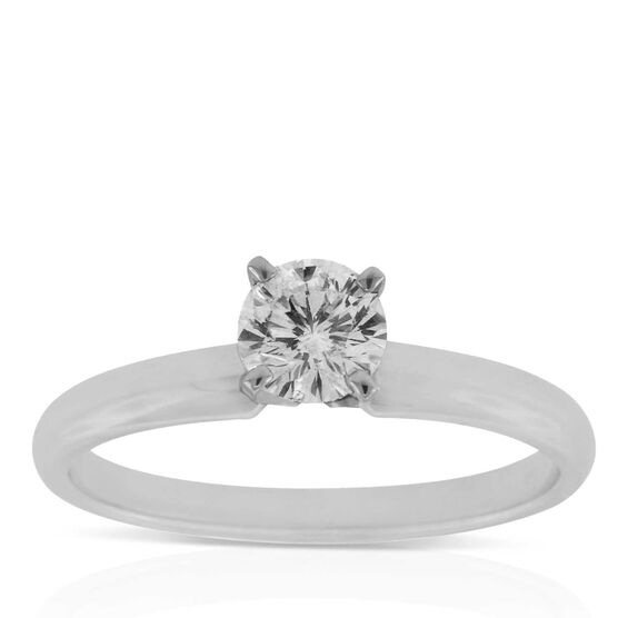 Ben Bridge Signature Diamond™ Ring in 14K, 1/2 ct.