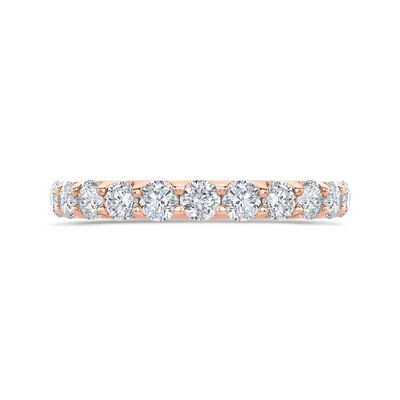 Bella Ponte Rose Gold Diamond Band 14K, 1 ctw.
