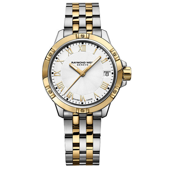 Raymond Weil Tango Classic Two-Tone Watch, 30mm