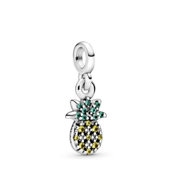 Pandora Me My Pineapple Crystal Charm