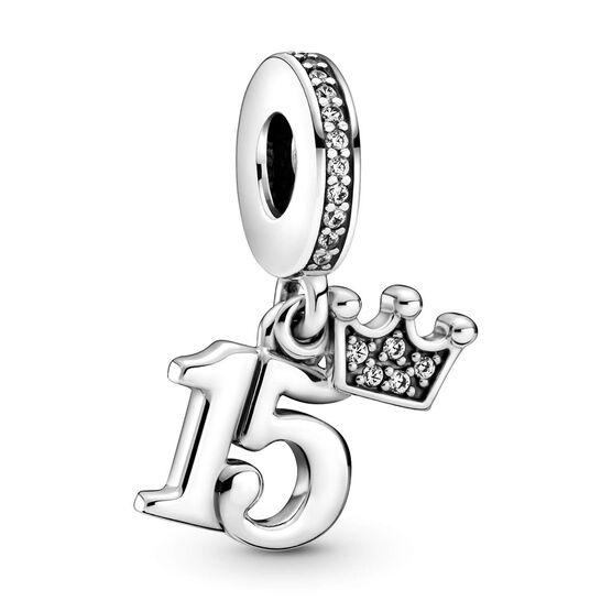 Pandora 15th Birthday CZ Dangle Charm