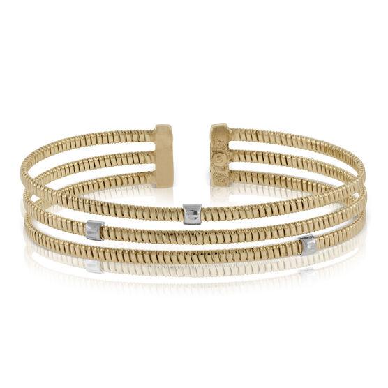 Toscano Three Strand Bracelet 14K