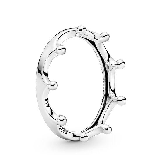 Pandora Wonderland Polished Crown Ring