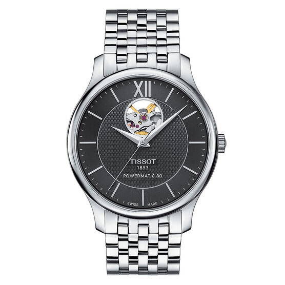 Tissot Tradition Powermatic 80 Open Heart T-Classic Auto Watch