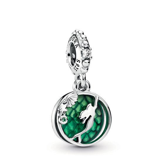 Pandora Disney Ariel Enamel & CZ Dangle Charm