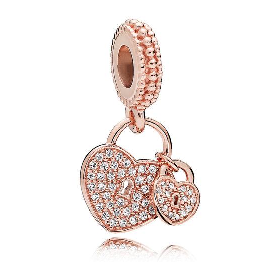 Pandora Rose™ Love Locks CZ Dangle Charm