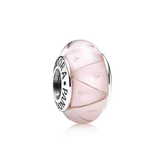 PANDORA Rose Looking Glass Charm