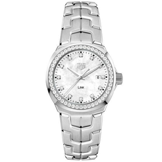 TAG Heuer Link Diamond Bezel & Dial Quartz Watch