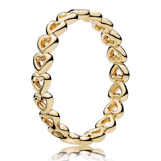 PANDORA Shine™ Linked Love Ring