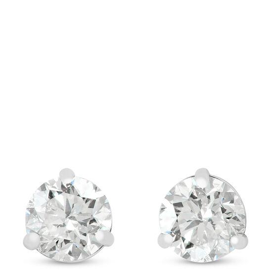 Ikuma Canadian Diamond Stud Earrings 14K, 1 ctw.