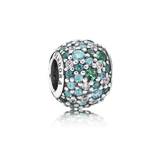 Pandora Ocean Mosaic Pavé Charm