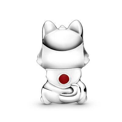 Pandora Places Japanese Akita Inu Dog Enamel Charm