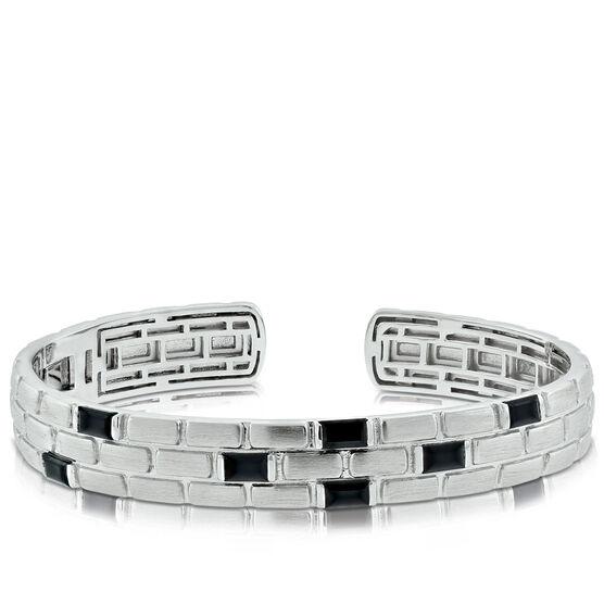 Lisa Bridge Onyx Cuff Bracelet