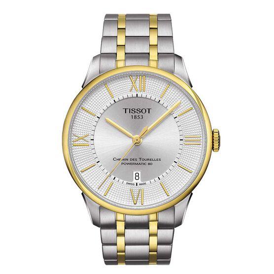 Tissot Chemin Des Tourelles Powermatic 80 Watch, 42mm