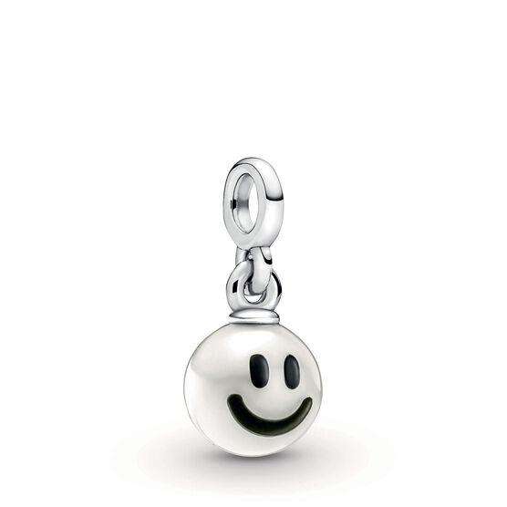 Pandora ME Happy Freshwater Cultured Pearl & Enamel Dangle Charm