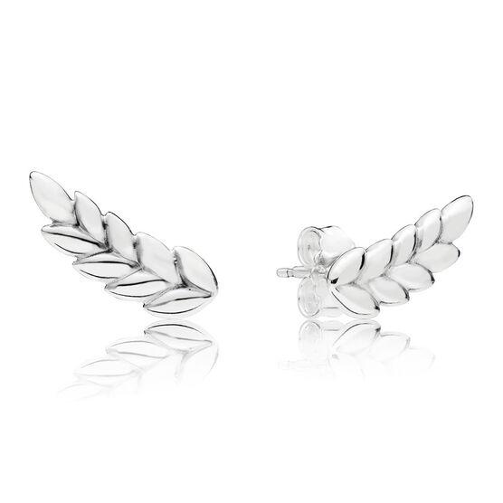 Pandora Curved Grains Earrings