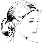 Freshwater Cultured Pearl & White Sapphire Earrings 14K