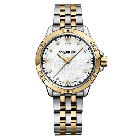 Raymond Weil Tango Two-Tone Diamond Dial Watch
