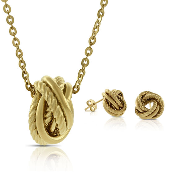 Toscano 'LOVE' Knot Gift Set
