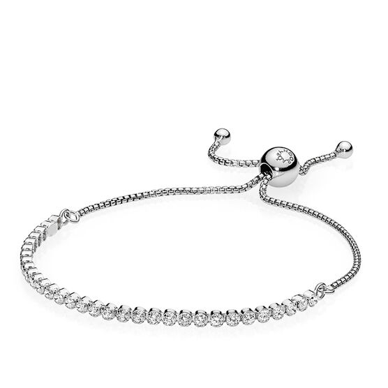 Pandora Sparkling Strand CZ Bracelet