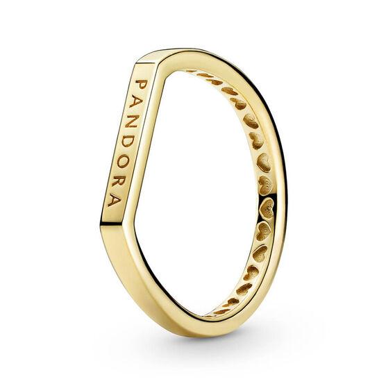 Pandora Shine™ Logo Bar Stacking Ring