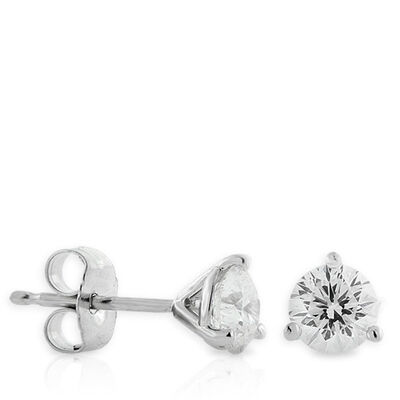 Signature Forevermark Diamond Earrings 18K, 3/4 ctw.