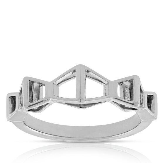 Lisa Bridge Trapezoid Ring