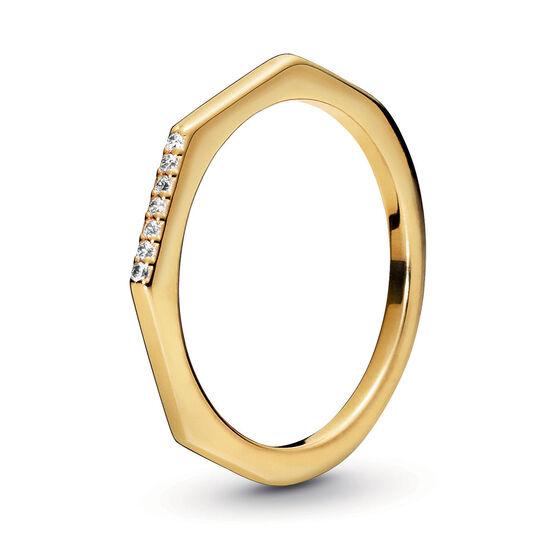 Pandora Shine™ Multifaceted CZ Ring