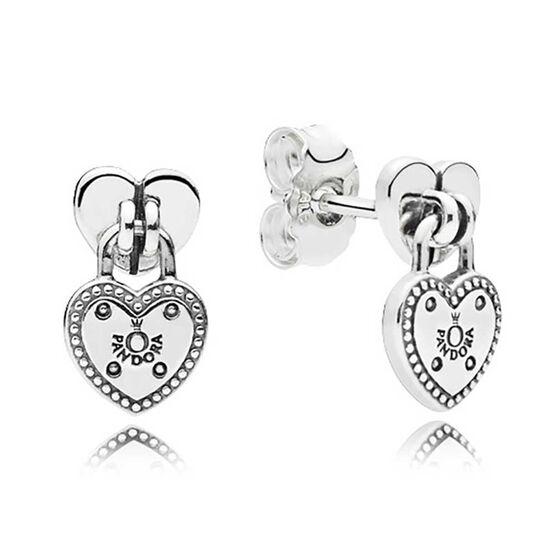 PANDORA Love Locks Dangle Earrings