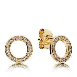 c0eb7333e PANDORA Forever PANDORA Earrings - 290585CZ | Ben Bridge Jeweler