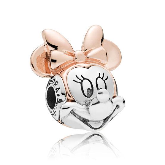 PANDORA Rose™ Disney, Two-Tone Minnie ESSENCE Portrait Charm