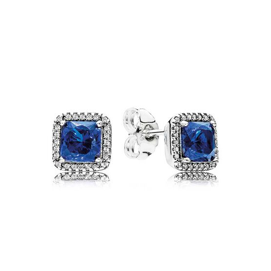 Pandora Timeless Elegance Crystal & CZ Earrings