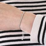 Diamond Bolo Bracelet 14K, 1/4 ctw.