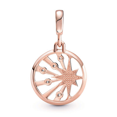 Pandora ME Rays of Life CZ Medallion