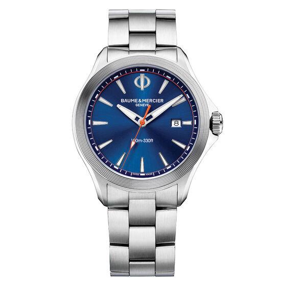 Baume & Mercier CLIFTON 10413 Blue Dial Watch