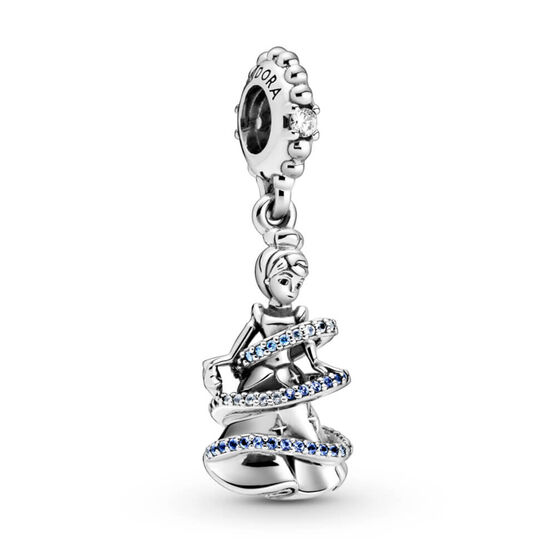 Pandora Disney Cinderella Magical Moment CZ Dangle Charm