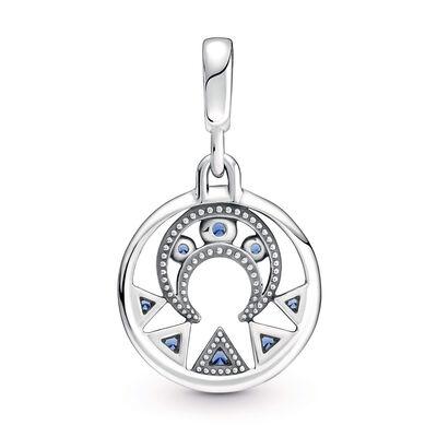 Pandora ME Moon Power Crystal Medallion Charm
