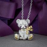 2015 Benny Bear Pendant in Sterling Silver