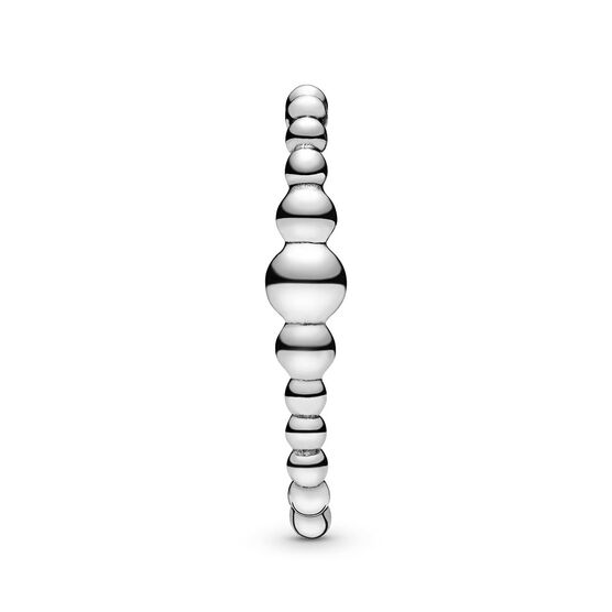 Pandora Purely Pandora Row of Beads Single Stud Cuff Earring