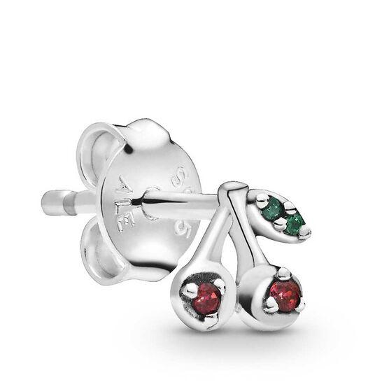 Pandora Me My Cherry Crystal Single Stud Earring